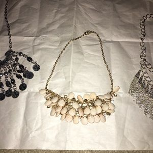 Jewelry - Four big, and beautiful necklaces that add a pop